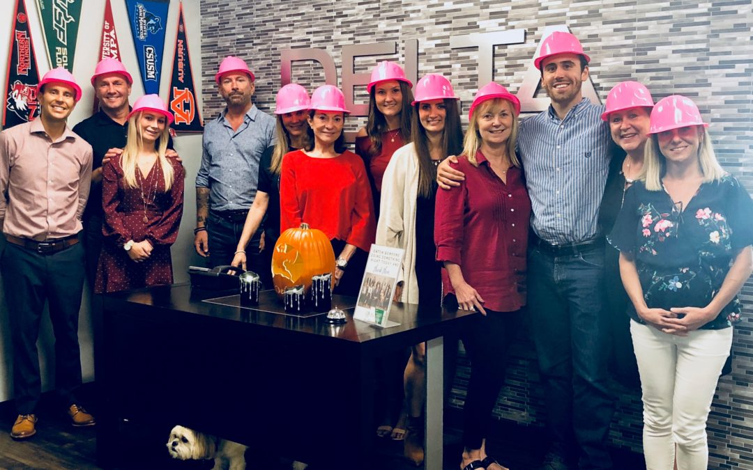 Delta Construction Partners Supports Breast Cancer Month