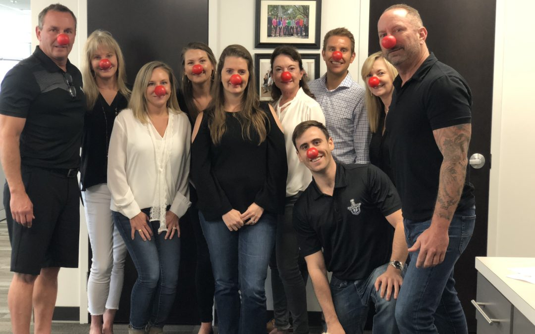 Delta Construction Partners on Red Nose Day 2018